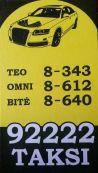 Dainiaus Kvietinsko taksi paslaugų įmonė